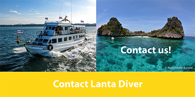 5 Star PADI IDC Centre offering scuba diving in Koh Lanta, Thailand