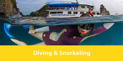 Diving Thailand, Koh Lanta - Diving & Snorkeling