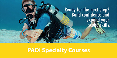 PADI Diving course Koh Lanta Thailand