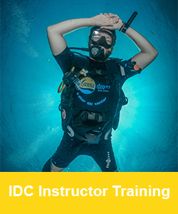 IDC Dive Instructor training course, Koh Lanta, Thailand